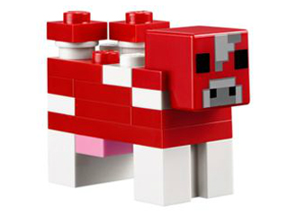 Minecraft Cow, Mooshroom. minecow02.