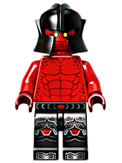Nexo Knights minifig: nex027 Monster, Red & Black, 2016, New.