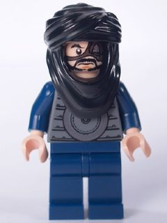 LEGO Prince of Persia minifigure: pop005 Ghazab-Hatchet Hassansin. 2010. Preowned.