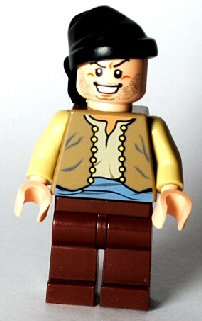 LEGO Prince of Persia Minifig: pop008 Ostrich Jockey. 2010. Preowned.