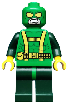 LEGO Super Heroes Minifigure: Hydra Henchman. 2014. Preowned.