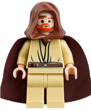 Star Wars Episode 3 Minifigure: sw0234 Obi-Wan Kenobi, 2009, preowned, retired.