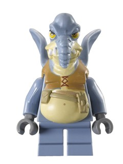 Star Wars Episode 1 minifig: sw0325 Watto. 2011. Preowned.