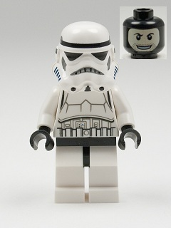 LEGO Star Wars Episode 4/5/6 minifigure: sw0366 Stormtrooper (patterned head). 2012/13. Preowned.