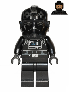 Star Wars Episode 4/5/6 minifig: sw0457 TIE Bomber Pilot. 2013. Preowned.