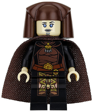 Star Wars Episode 3 minifig: sw0745. Luminara Unduli. 2016. Preowned. No cape.