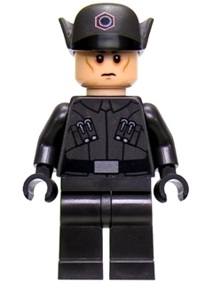 Star Wars Episode 8 minifigure: sw0870 First Order Officer. 2017. Preowned.