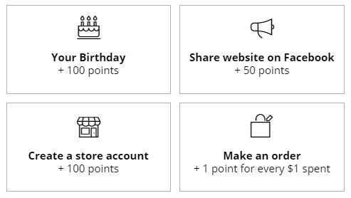 The Tot Drawer Reward Program Earn Points
