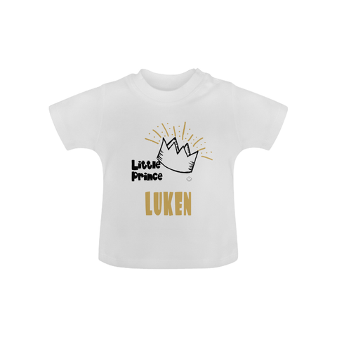 """Little Prince"" T-Shirt (6M-8Y) -  custommade - The Tot Drawer"