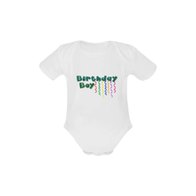 """Birthday Boy"" Bodysuit (0-24M) -  custommade - The Tot Drawer"