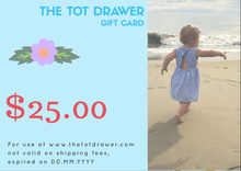 Gift Card of $5 Store Credit -  E-gift card - The Tot Drawer