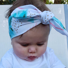 BELLE Bowknot Headband Multicolour Arrowhead -  Accessories - The Tot Drawer