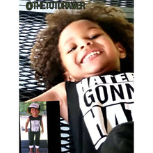 """Haters Gonna Hate"" Sleeveless Jumpsuit -  Onesies - The Tot Drawer"