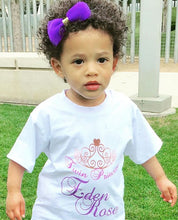 """Little Princess"" T-Shirt (6M-8Y) -  custommade - The Tot Drawer"
