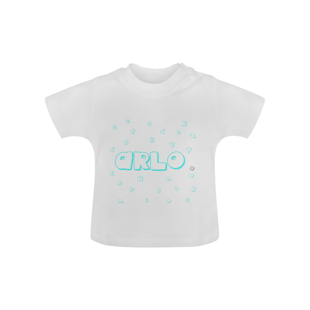 Learning Alphabets Personalized T Shirt 6m 8y The Tot Drawer
