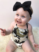 CARMINE Camouflage Sleeveless Romper -  Romper - The Tot Drawer