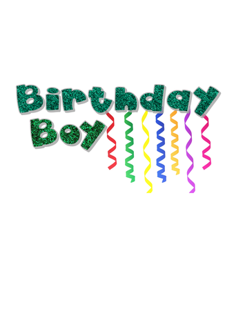"""Birthday Boy"" T-Shirt (6M-8Y) -  custommade - The Tot Drawer"