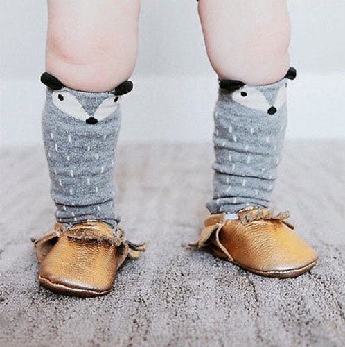 HUNTER Foxy High Knee Socks Grey -  Accessories - The Tot Drawer