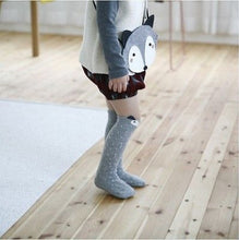 HUNTER Foxy High Knee Socks Brown -  Accessories - The Tot Drawer