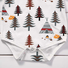 FOREST Tree and Teepee Bodysuit