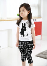 DAMIEN Rabbits T-shirt and Pants Set White -  Sets - The Tot Drawer