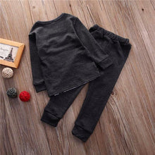 JERRY Dark Grey Bear and Long Pants Set -  Sets - The Tot Drawer