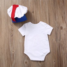 BLUE Marshmallow Man Sailor Costume with Hat -  Sets - The Tot Drawer