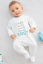 """I really really really love my daddy/mummy"" -  Onesies - The Tot Drawer"