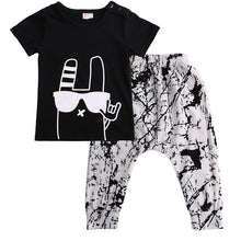 GLEN Cool Bunny T-Shirt and Pants Set -  Sets - The Tot Drawer