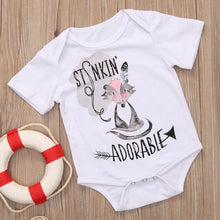 """Stinkin' Adorable"" Fox Bodysuit -  Onesies - The Tot Drawer"