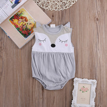 FINLEY Foxy Romper Grey -  Romper - The Tot Drawer