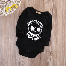 """Mommy's Little Nightmare"" L/S Bodysuit -  Onesies - The Tot Drawer"