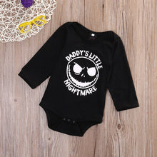 """Daddy's Little Nightmare"" L/S Bodysuit -  Onesies - The Tot Drawer"