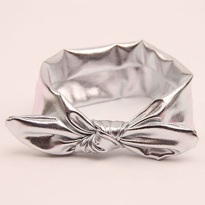 BELLA Bowknot Headband Slick Silver -  Accessories - The Tot Drawer
