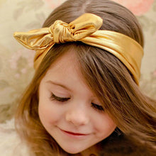 BELLA Bowknot Headband Slick Gold -  Accessories - The Tot Drawer