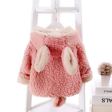 BRYCE Bunny Ears Reversible Faux Fur Fleece Winter Coat Jackets Pink (1-4T) -  Outerwear - The Tot Drawer