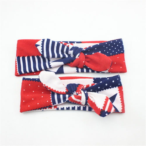PRECIOUS Mother Daughter Matching Bowknot Headband Red (2 pcs) -  Accessories - The Tot Drawer