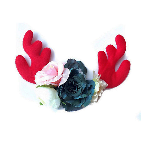 Deer Flower Headband (5 Options)