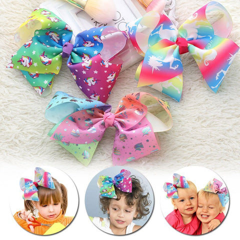 Unicorn Bow Butterfly Hairpin (4 print options)