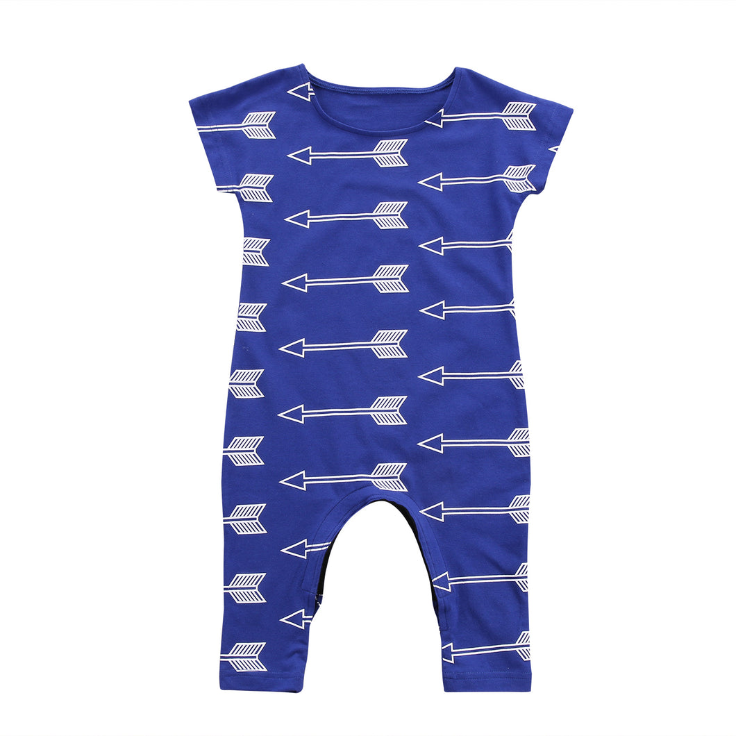 BARRY Arrows Jumpsuit Romper (0-3T)