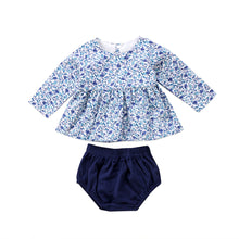 BETHANY Floral L/S Top and Bloomers Set (0-24M) -  Dress - The Tot Drawer