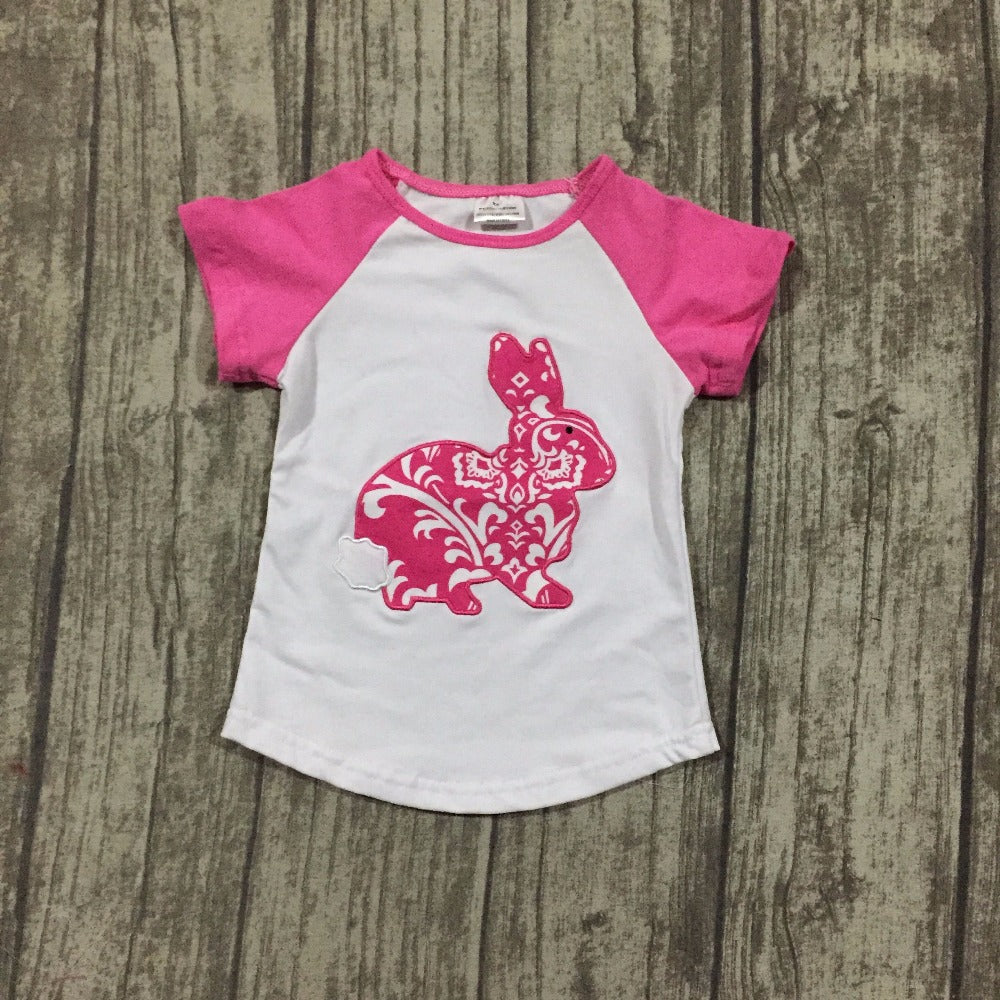 HUNNY Bunny Pink T-Shirt (2-8Y) -  top - The Tot Drawer