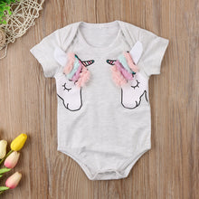 Unicorn Manes Short Sleeves Bodysuit (0-24M) -  Onesies - The Tot Drawer