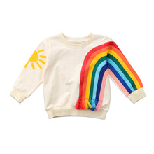 RAINBOW Long Sleeve Pullover (2-7T) -  Outerwear - The Tot Drawer