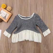 AVA Long Sleeve Ruffles Sweater (0-24M) -  Outerwear - The Tot Drawer