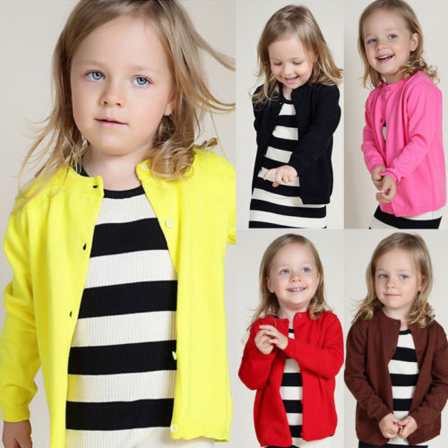 CANDY Colored Cardigan (1-7T, 7 colors option)
