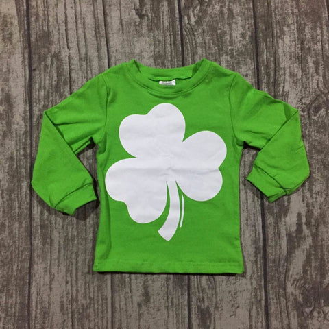 PATRICK Long Sleeve Shamrock Sweatshirt (1-8Y) -  top - The Tot Drawer