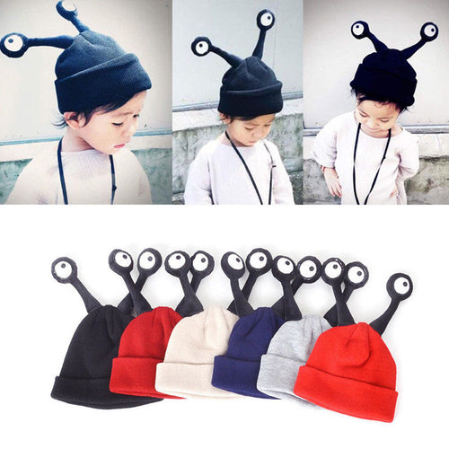 POCKY Alien Eyes Knit Hat (5 colors option) -  Accessories - The Tot Drawer