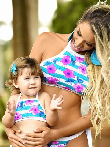 AQUATA Matching Family Mom, Girl and Boy Swimwear (1pc) -  Swimwear - The Tot Drawer