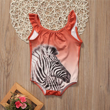 ZECORA Zebra One-Piece Swimwear (2-7T)